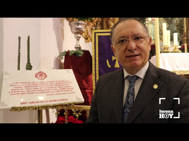 Vídeo: Una placa conmemorará la cesión a la cofradía de los terrenos del Santuario de Aras