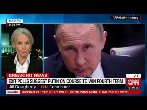 Putin Wins Six More Years In Power, Exit Polls Show