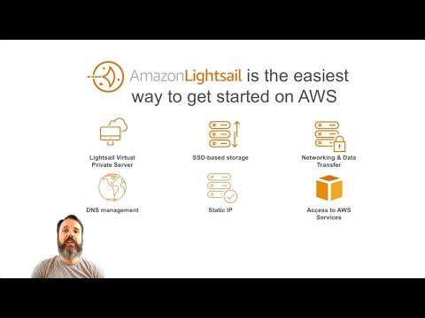 Deploying a WordPress Instance on Amazon Lightsail