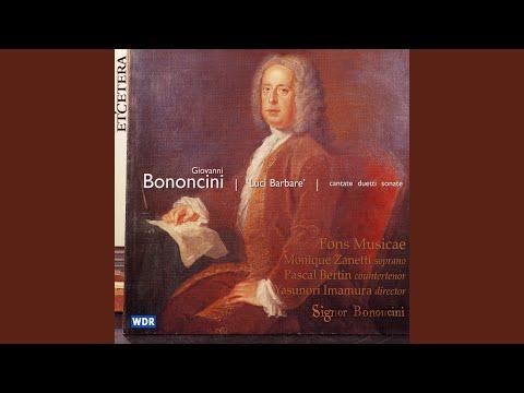 Cantata misero pastorello ; Allegro