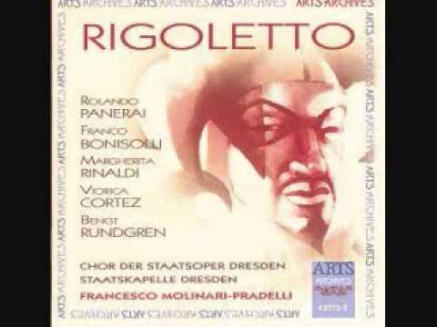 Rolando Panerai - Cortigiani, vil razza dannata (Rigoletto)