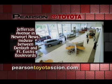 pearson toyota toyota dealership williamsburg hampton newport news york county gloucester. Black Bedroom Furniture Sets. Home Design Ideas