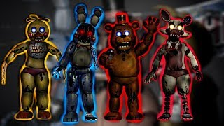 FNAF SPEED EDIT Withered Toy Animatronics JHH 114 YT