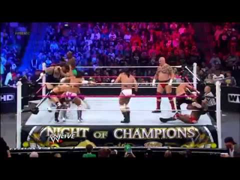 #1 Contender Battle Royal WWE Night of Champion 2012 Pre-show United States Championship