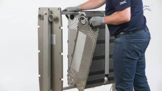 360° Service & Maintenance Video: Alfa Laval FrontLine & BaseLine GPHE – Change Gaskets