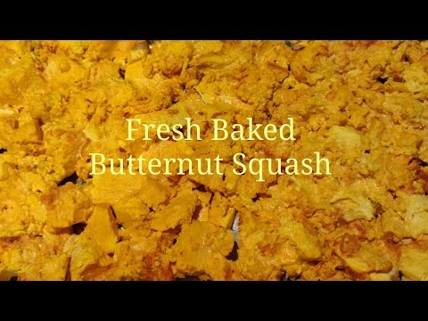 Baked Butternut Squash Freeze Dried in my Harvest Right Home Freeze Dryer