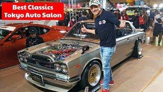 東京オートサロンで見つけた素晴らしい旧車達!トップ3を選んでみた! Tokyo Auto Salon's Best Classic Cars