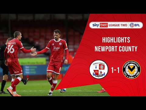 Crawley Town Newport Goals And Highlights