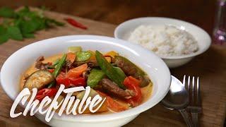 Comment Faire un Curry Rouge Thai - Recette dans la description
