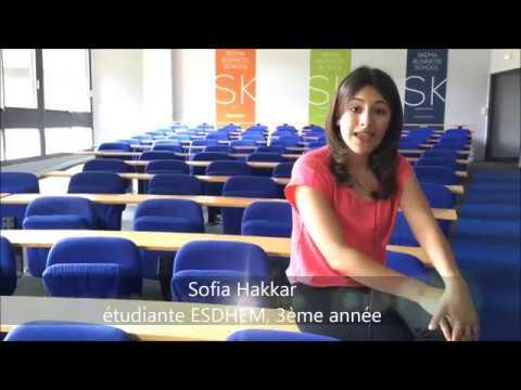 Sofia, étudiante ESDHEM - No 3.