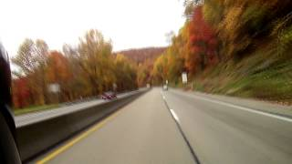 10-21-2012 Down The Mountain Into Uniontown (U.S Route 40)
