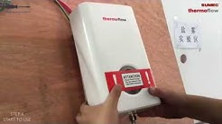 Thermoflow Compact Tankless Instant Water Heater Installation