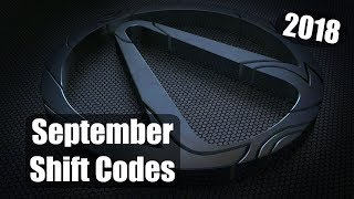 Borderlands 2 | (September) Shift Codes (2018)