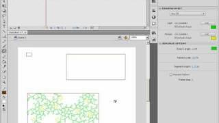 Инструмент Deco Tool в Adobe Flash CS4. Создание узора (13/46)