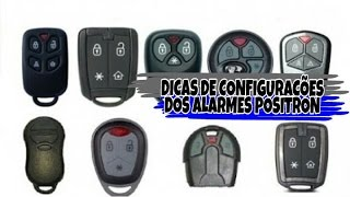 Dicas de Configurações dos Alarmes Positron Pelo Botão Mestre do Sensor de Ultrassom