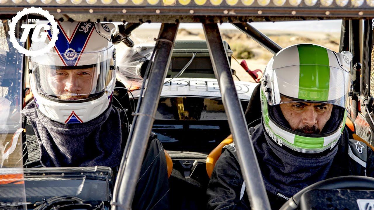 Chris Harris' Dangerous Breakdown On The Baja 1000 | Top Gear: Series 28