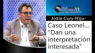 "Dr. Jottin Cury Hijo, ""Constitucionalmente no hay impedimento a la candidatura de Leonel"""