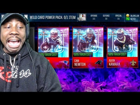 PLAYOFF WILD CARD PACK OPENING & 92 OVR TEAM HEROES! Madden Mobile 18 Gameplay Ep. 25