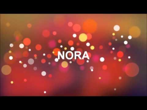 Feliz Aniversário Nora Youtube