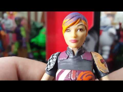 Star Wars Black Series Sabine Wren Unboxing And Review.