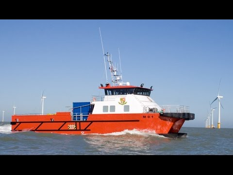 Wind Farm Support Vessel Catamaran
