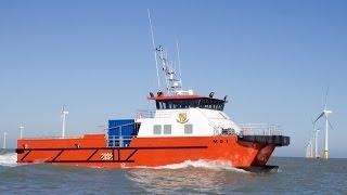 Wind Farm Support Vessel Catamaran