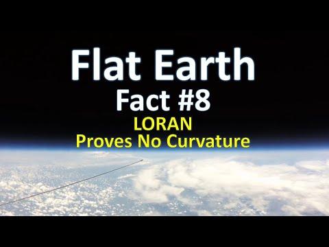 Flat Earth Fact #8 - LORAN Proves No Curvature