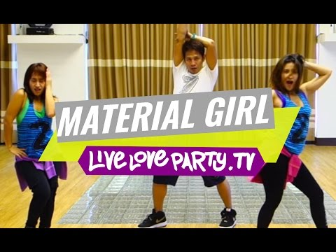 Material Girl | Zumba® Choreography by Mark & Che | Live Love Party