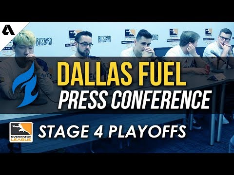 Dallas Fuel Overwatch League Stage 4 Playoffs Press Conference thumbnail