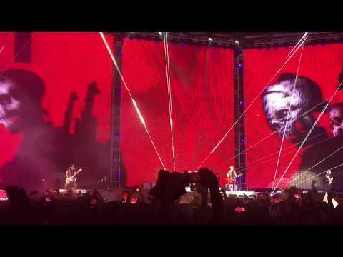 One. Metallica. Foxborough Gillette stadium - 05.19.2017