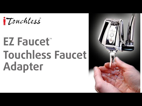 iTouchless EZ Faucet - Touch-Free Automatic Sensor Faucet Adaptor ...