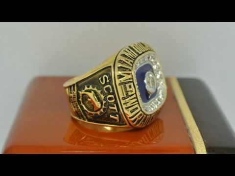 Miami Dolphins 1972 NFL Super Bowl VII Championship Ring