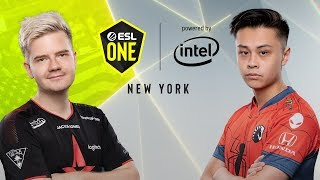 CS:GO - Astralis vs. Team Liquid [Dust2] Map 2 - Semifinal - ESL One New York 2019