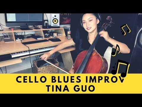 Cello Blues Improv  Tina Guo