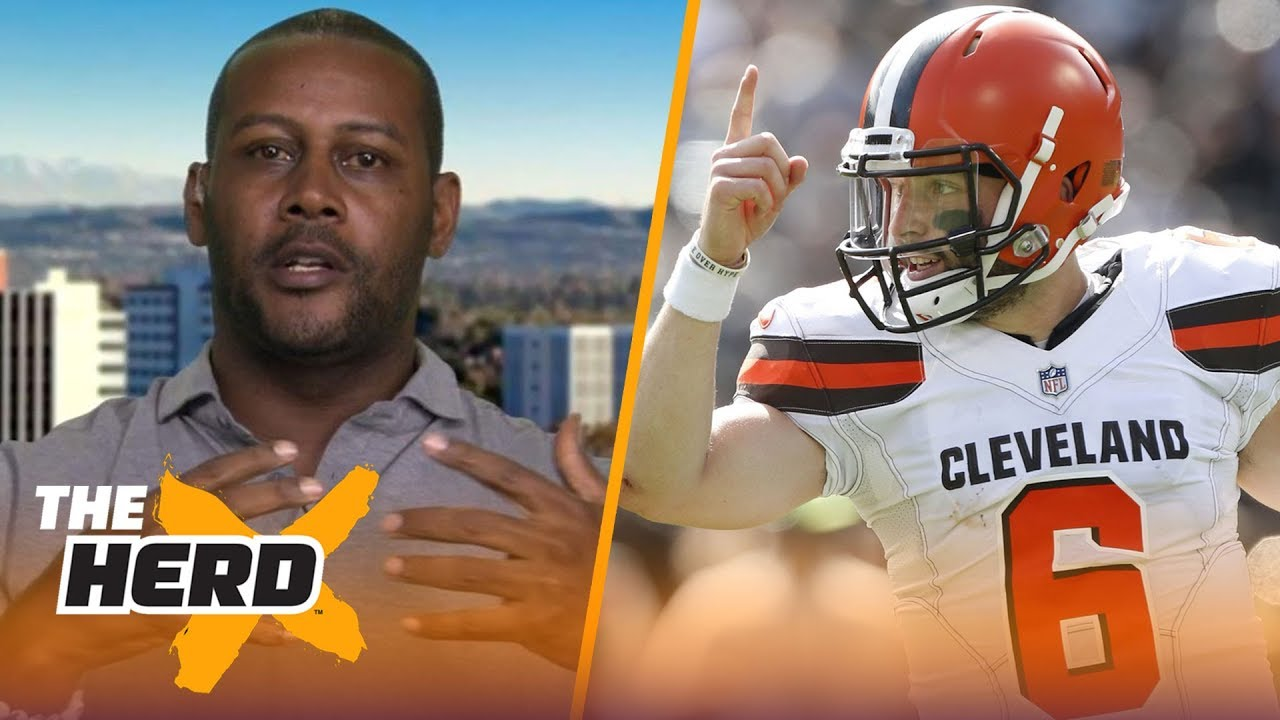 ty-law-discusses-tom-brady-s-legacy-baker-mayfield-nfl-rule-changes-nfl-the-herd