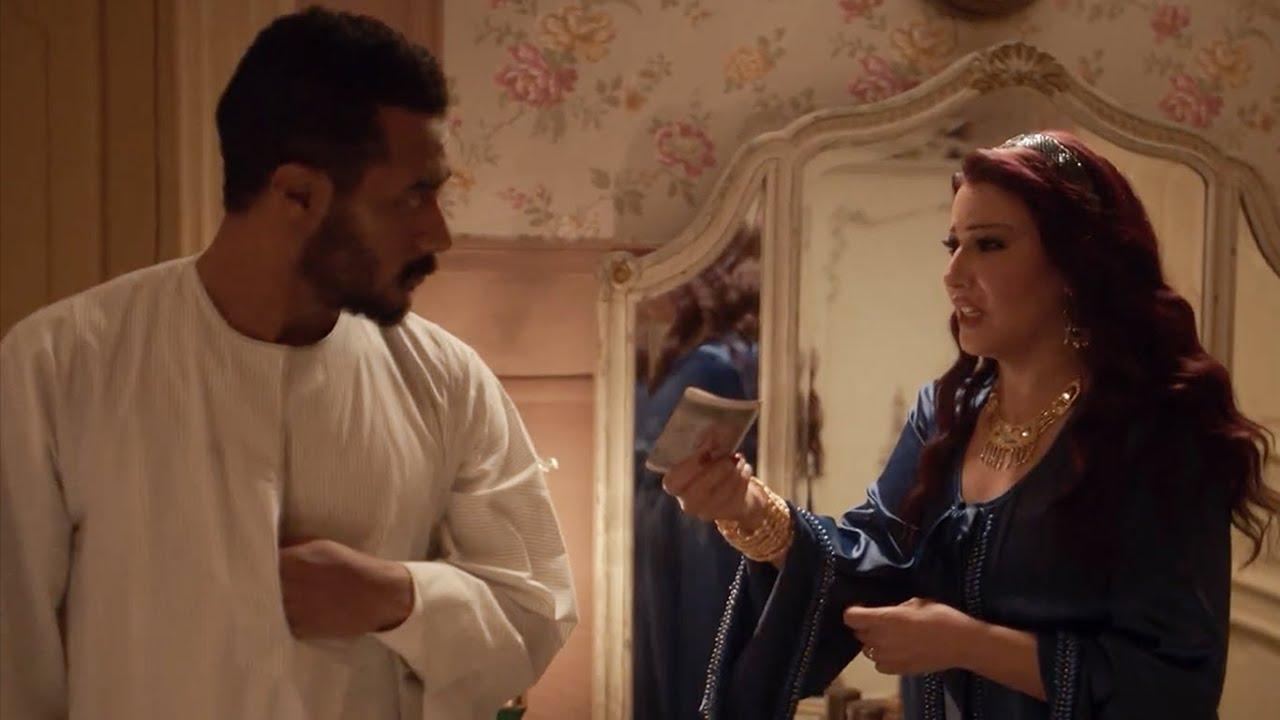 شوف رد فعل موسى لما حلاوتهم عرضت تساعده بفلوسها / مسلسل موسى - محمد رمضان