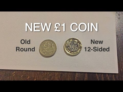 Changing My One-Pound Coins at a London Bank