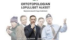 Ortotopologian lopulliset alkeet - Dosentti Aapo Heikkilä