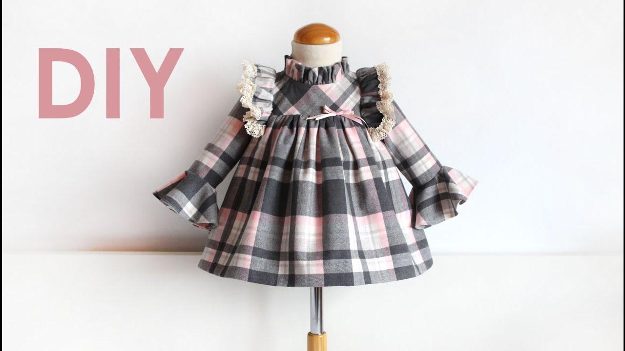 Vestido NiñaPatrones Costadillos Para Con Infantiles qSpzGLMVU