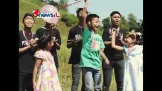 KIDS BAND PLAYING DASHAIN DHUN - NEWS24 TV