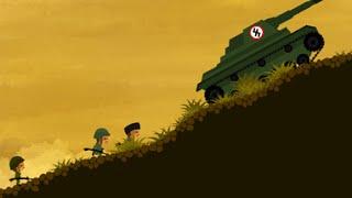 Классный Мультик Игра про Войну - Mini Commando
