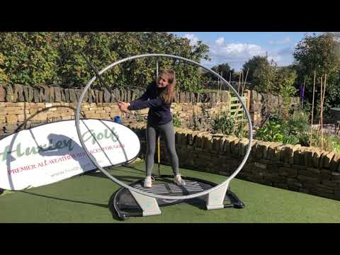 Back Garden Review of the PlaneSWING golf swing trainer by ...
