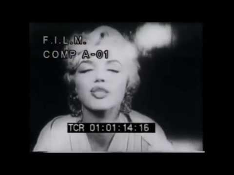 JFK and Marilyn Monroe - National Anthem Lana Del Rey
