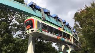 2019.10.31(木)13:27 上野動物園の40形モノレール 運行最終日 (Ueno Zoo Monorail, Tokyo)