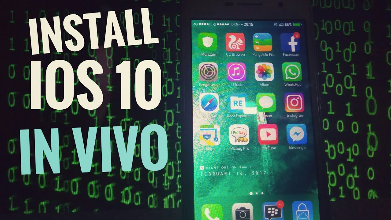 Install ios 10 theme in vivo y21l and all other vivo phones 😊(no root  required)