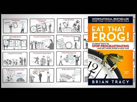 20 Great Ways to Stop Procrastinating and Get More Done in Less Time | Eat That Frog by Brain Tracy Mp3