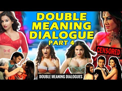 DOUBLE MEANING DIALOGUES IN BOLLYWOOD - 2018 (THARKI BOLLYWOOD PART 4)
