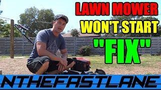 Lawn Mower Won