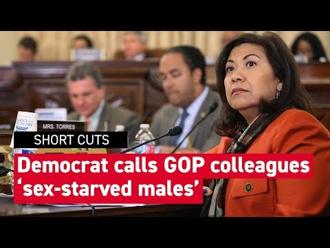 The Conservative Circus with James T. Harris - Sex Deranged Democrat Calls Out Sex Starved Male Republican Colleagues