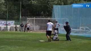 Грузинская команда обыграла в бейсбол американских военных